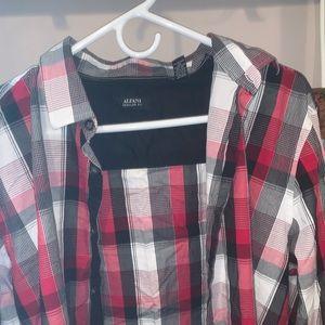 Alfani button down shirt